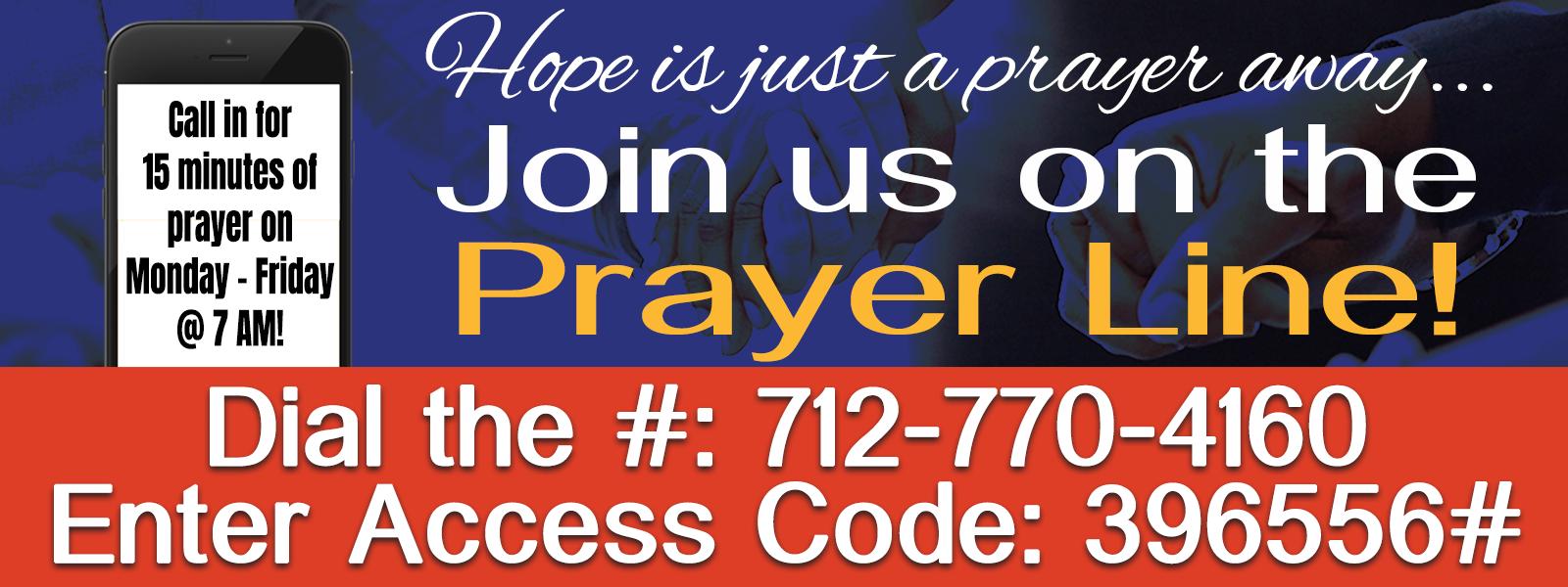 2020 Prayer Call slide
