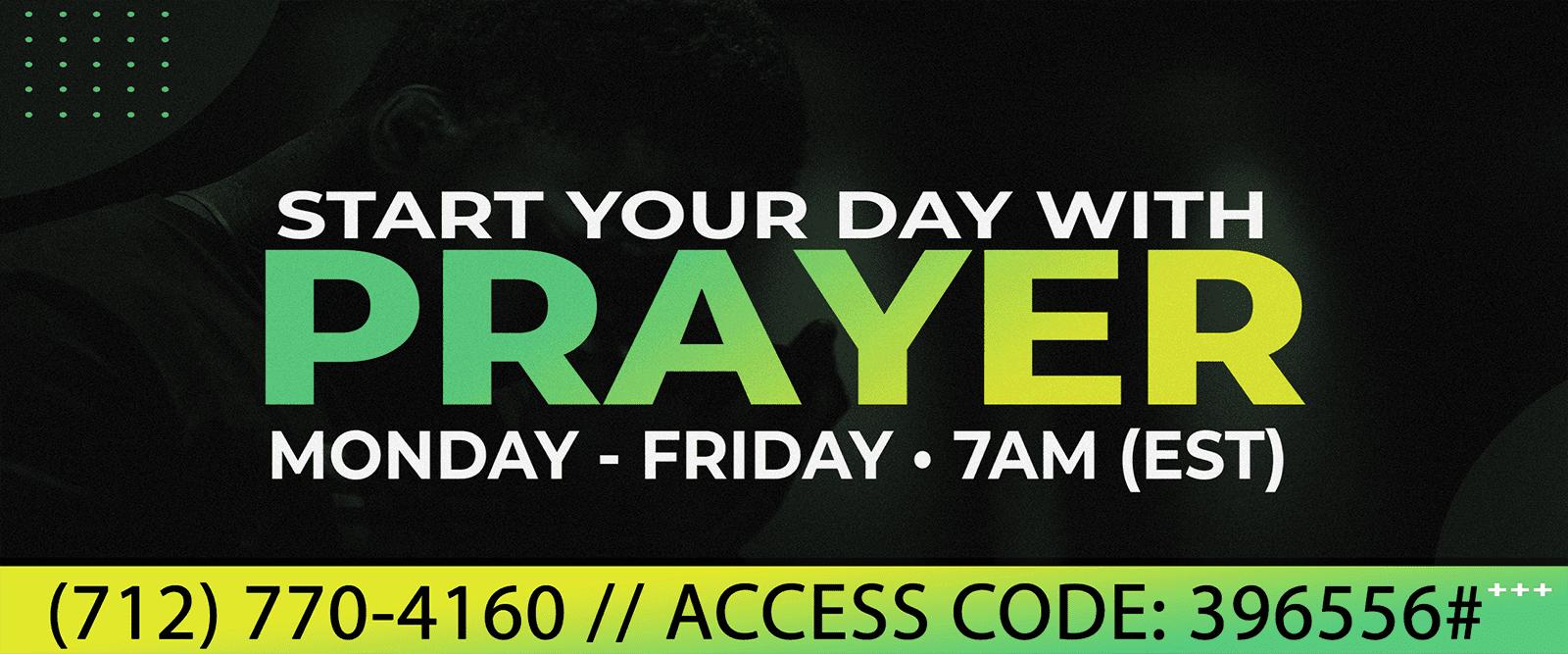 2021 Prayer Call slide