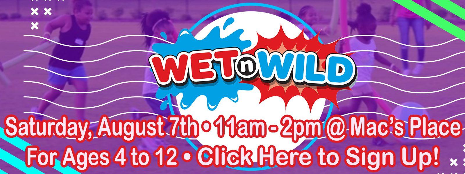 2021 Wet & Wild Kidz Day slide