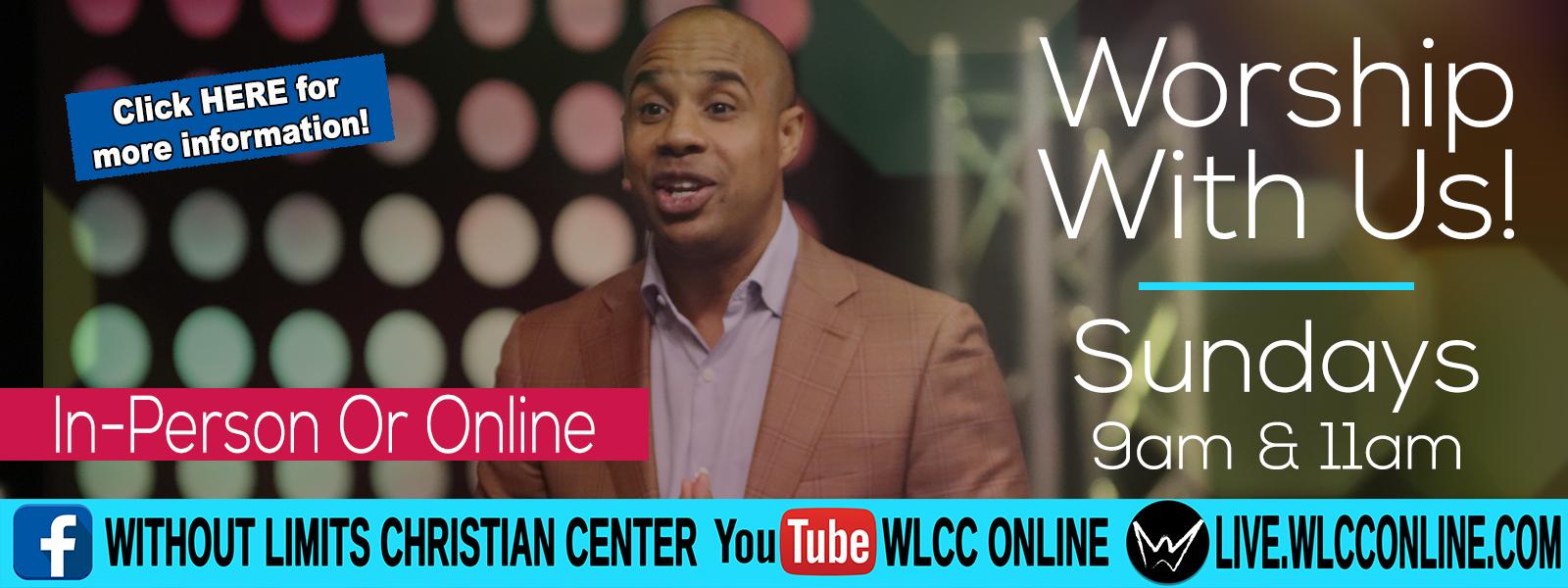 September 2020 Worship With Us Online slide