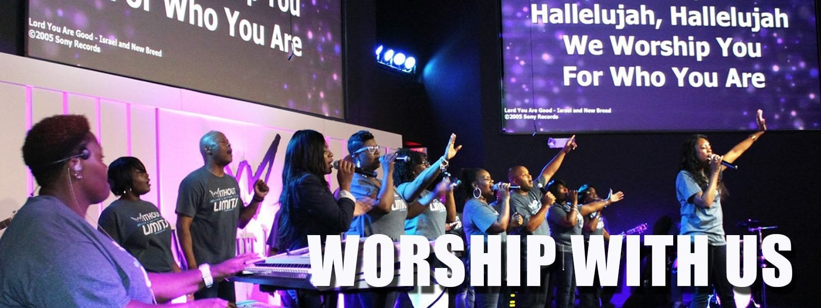 Worship With Us slide