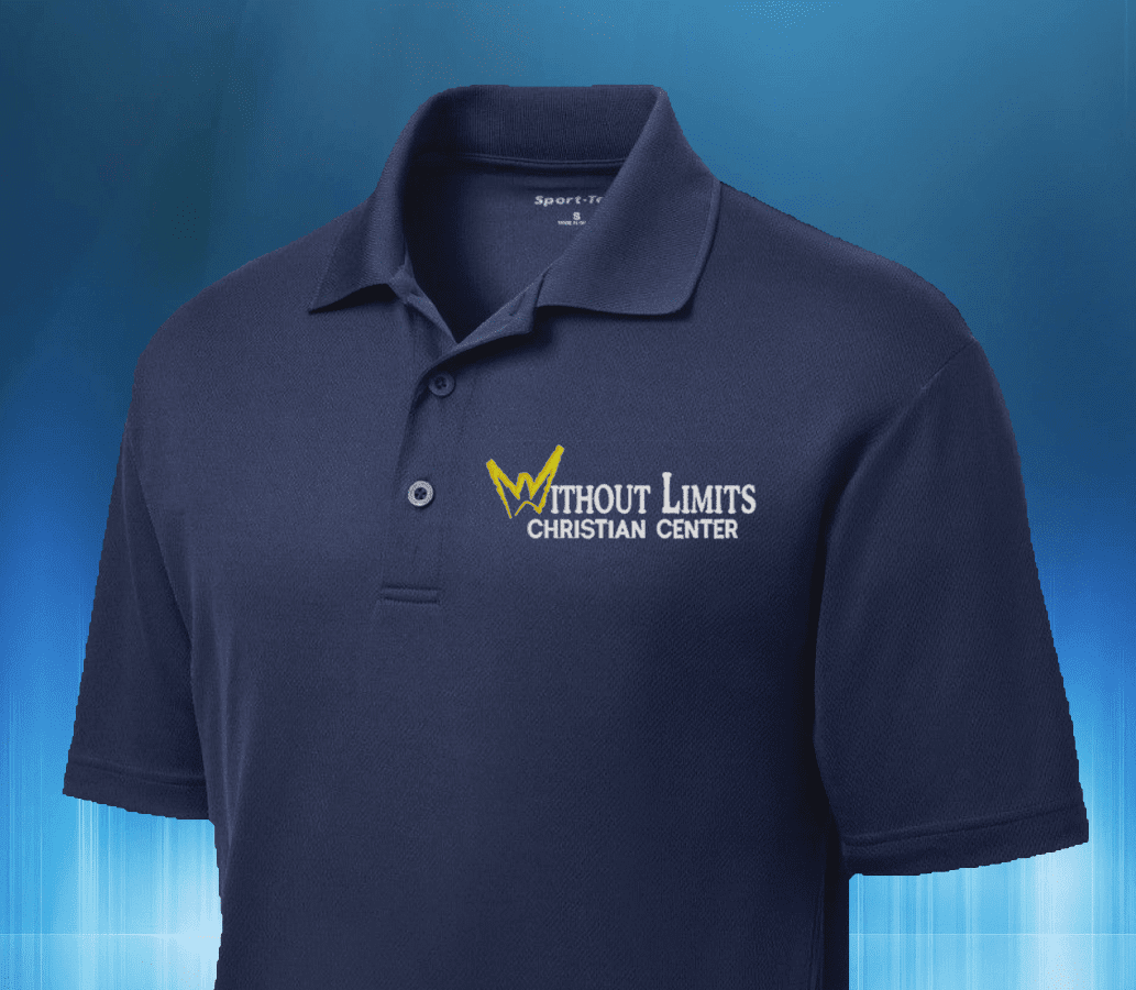 Embroidered Wlcc Polo Shirts Without Limits Christian Center